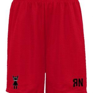 Red RN Mesh Shorts
