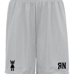 Silver RN Mesh Shorts